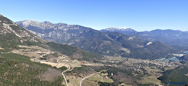 La Vall de Lord -01- Paisaje -03- Serra Del Verd, Serra d' Ensija i Rasos de Pegura, Sant Llorenç de Morunys, Pantà de la Llosa de Cavall -06- (25-02-2017)