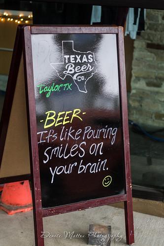 Pouring smiles