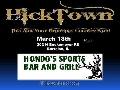 HickTown 3-18-17