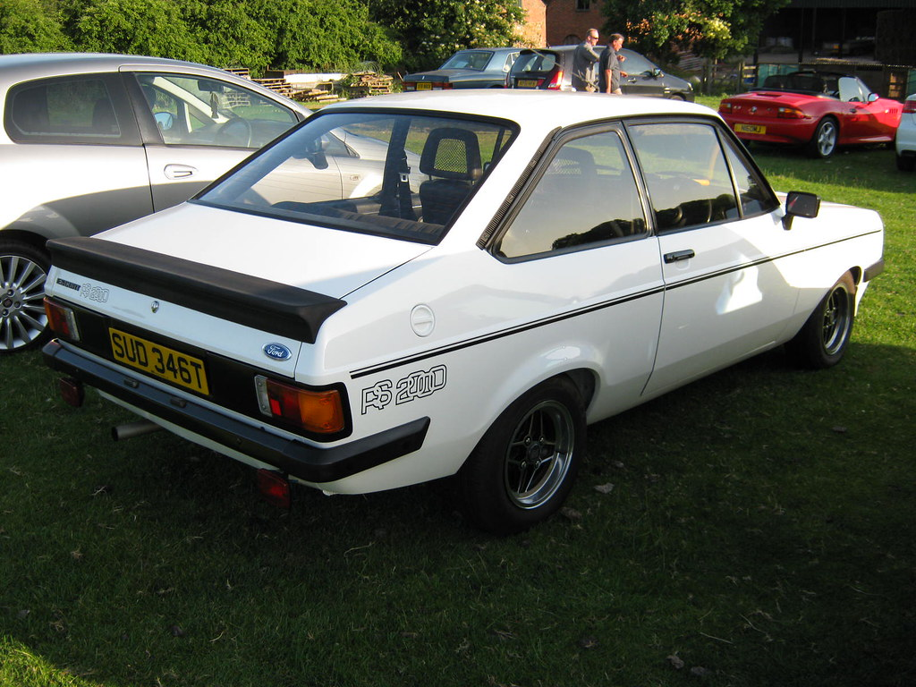 1979 FORD ESCORT MK2 RS2000 CUSTOM 1993cc SUD346T | Registra… | Flickr