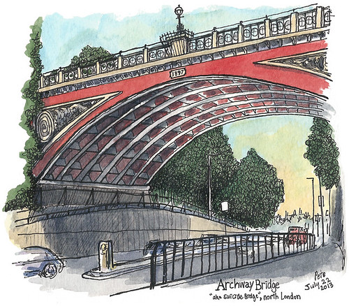 """Suicide Bridge"", Archway 