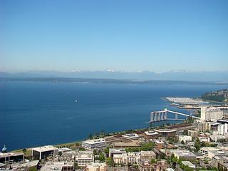 020 Uitzicht op Olympic NP vanaf Space Needle