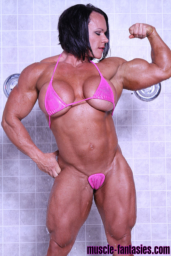 Aleesha Young By Pumped Musclez