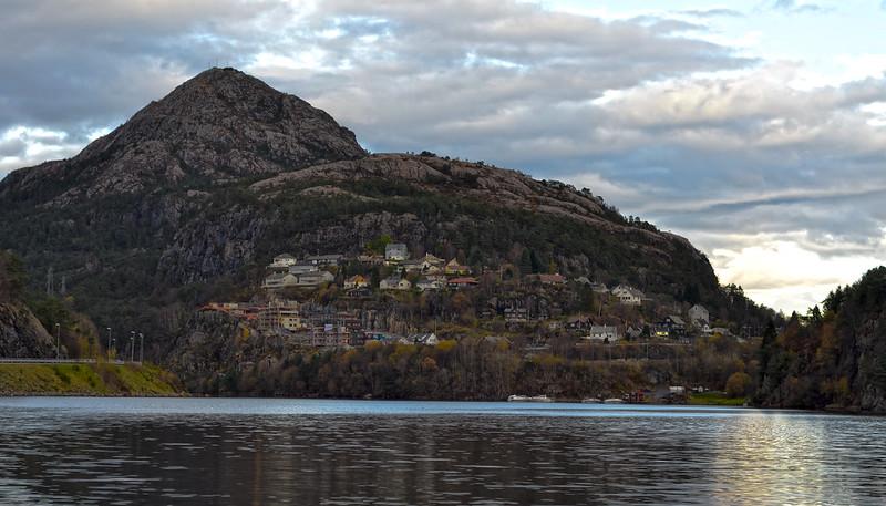 Loddefjord - Lyderhorn Mountain