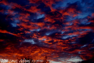 Intense-Sunset-Feb-9th | by Lewis Adams Photography