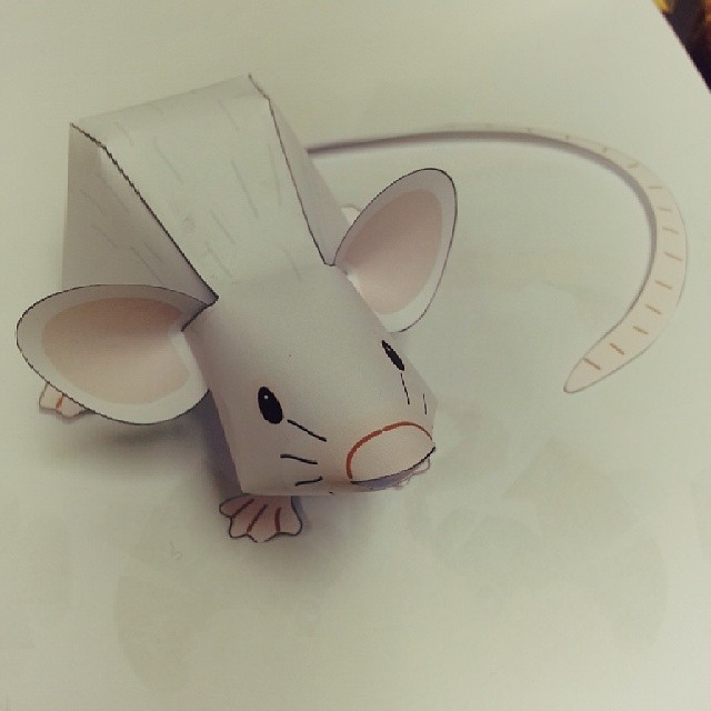 Mouse 11 Papermodel Papercraft Papertoy Mouse Rat Flickr