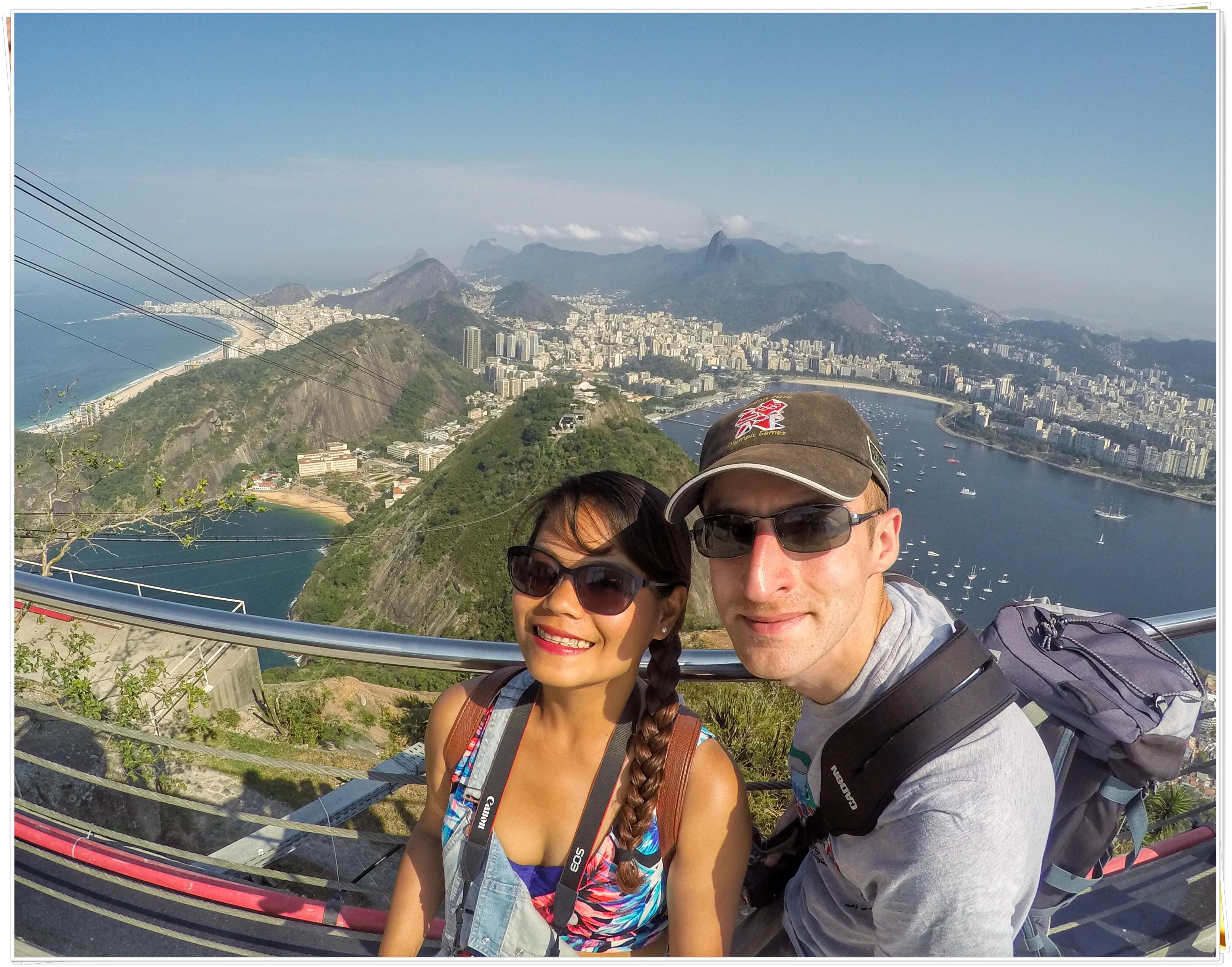2016 Rio de Janeiro (On top of Sugarloaf Mountain)