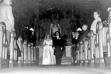 Ted Cuttitta and Joan Macaluso wedding St Agnes 1952