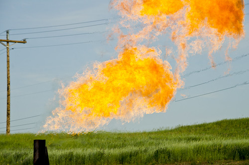 Orvis State natural gas flare 02 - Evanson Place - Arnegard North Dakota - 2013-07-04 | by Tim Evanson