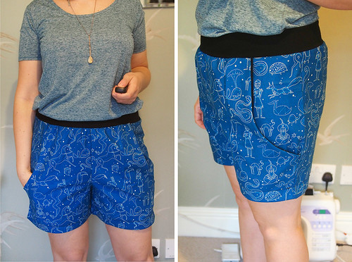 Constellation PJ shorts | by What Katie Does