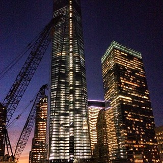 View of WTC1 from my room | by 0B1