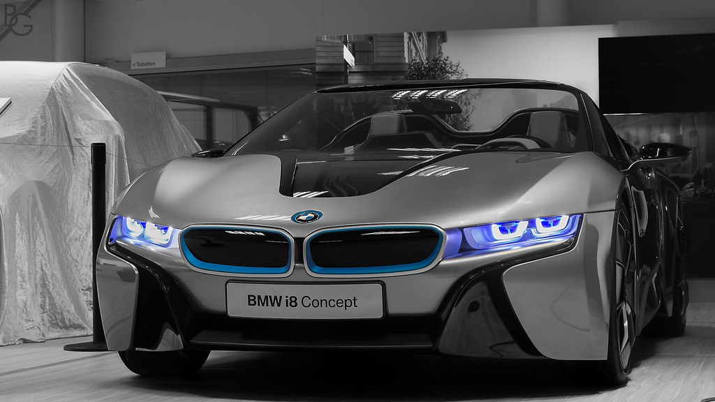 Bmw I8 Spyder Concept Zwolle The Netherlands During The Flickr
