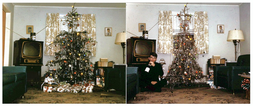 Funny Droopy Christmas Tree from the 1950s | I've never expe… | Flickr