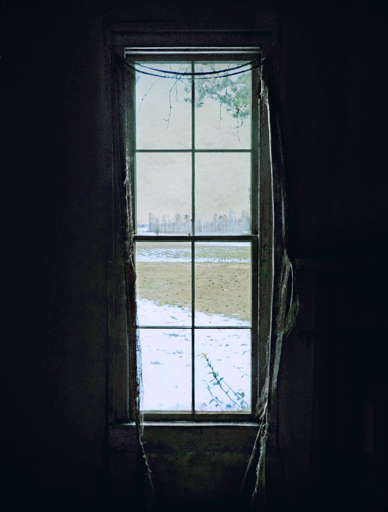 View Through a Dark Window on a Cold Winter's Day: Abandon… | Flickr