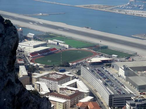 Victoria Stadium, Gibraltar.