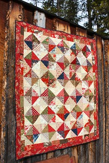 Half Square Triangle Quilt | by CoraQuilts~Carla
