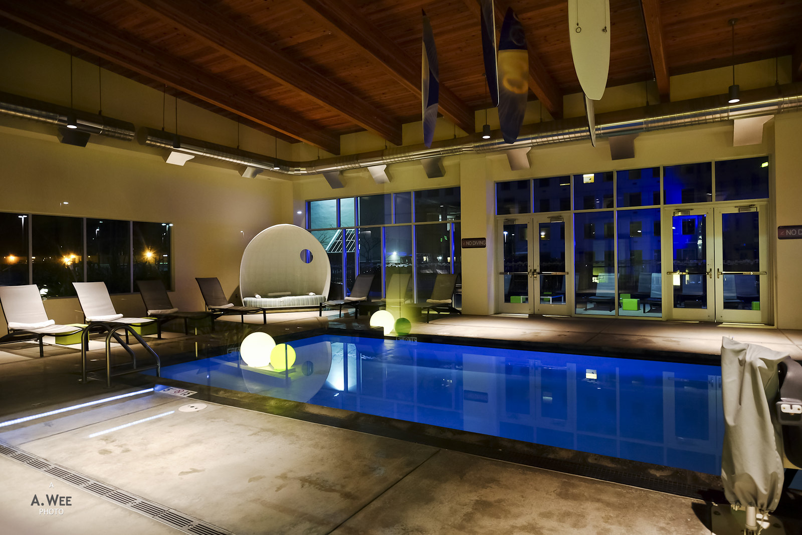 Indoor swiming pool