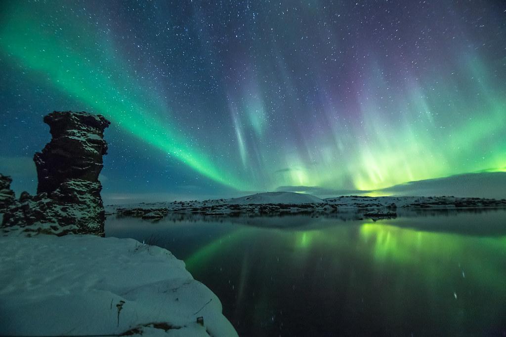 Aurora Borialis Mývatn