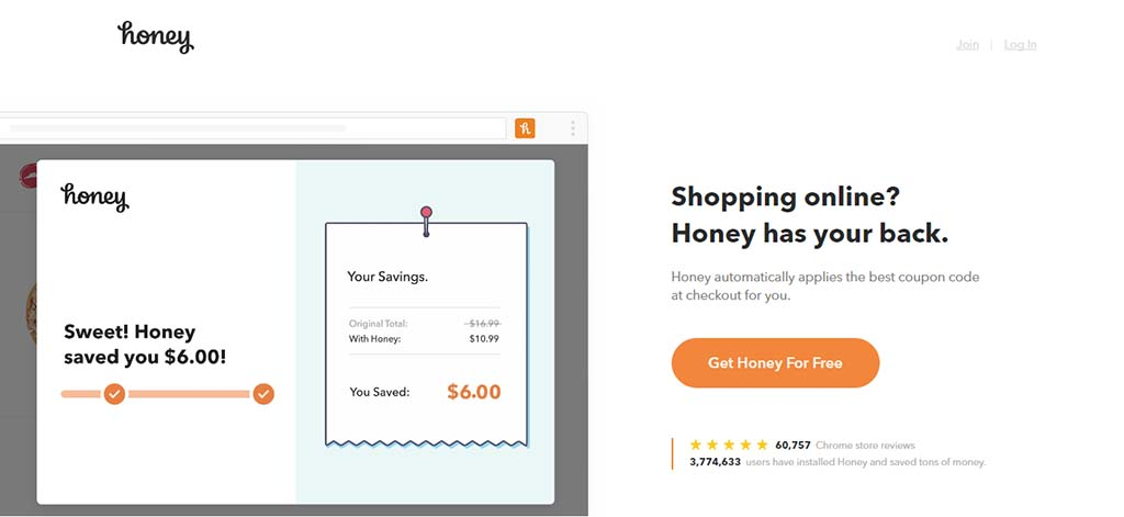 Extremely useful websites #6: This extension automatically applies the best coupons whenever you buy something from even the biggest shopping sites like Amazon or Nike.