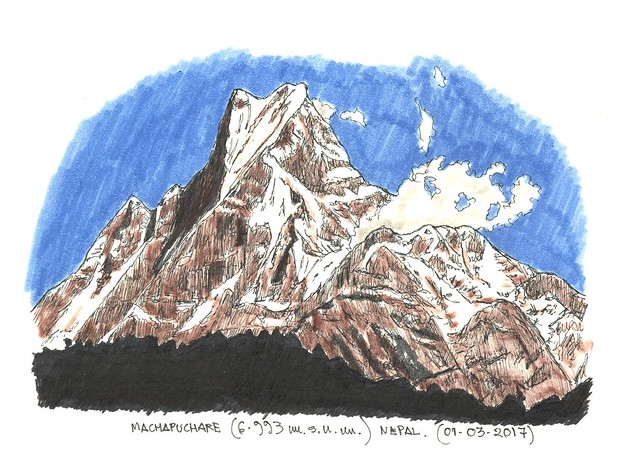 Machapuchare (6.993 m.s.n.m.)