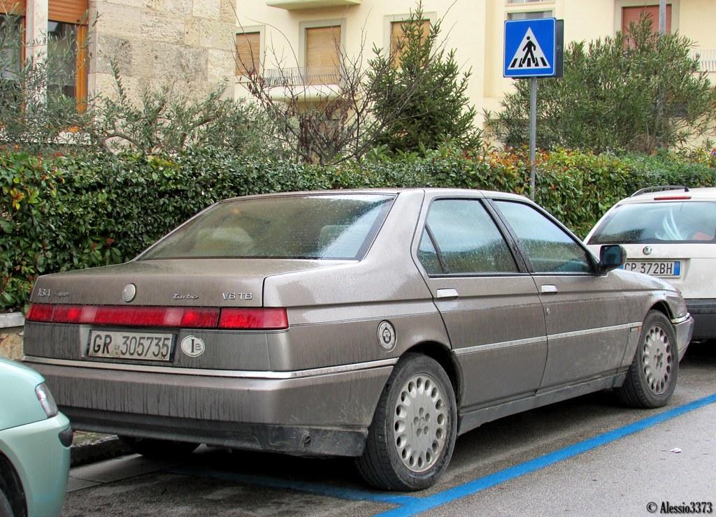 1992 Alfa Romeo 164 V6 Turbo Super Alessio Flickr