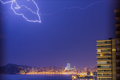 Benidorm's lightning