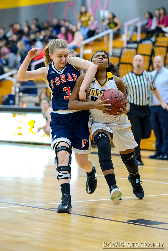 Jonathan Law vs. Foran High - High School Girls Basketball