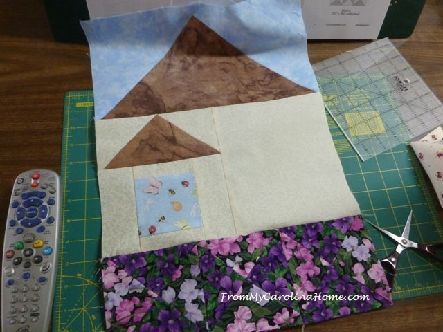 Be My Neighbor Quilt Block 4 ~ From My Carolina Home