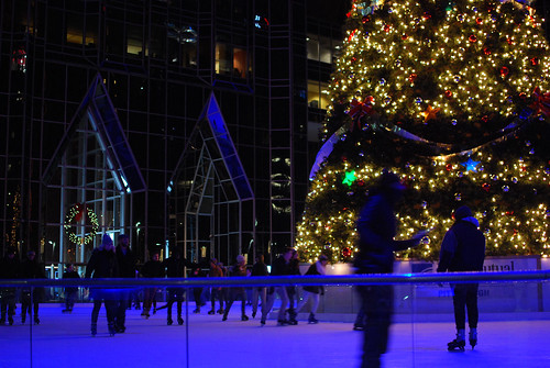 ppg place ice rink.
