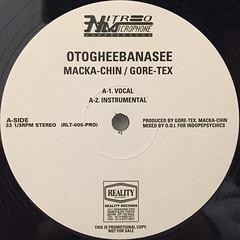 MACKA-CHIN:GORE-TEX:OTOGHEEBANASEE(LABEL SIDE-A)