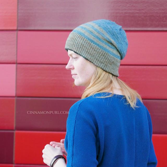 striped cyclone hat