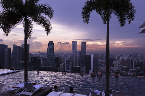 Marina Bay Sands Infinity Pool Great If You Don 39 T Mind H Flickr