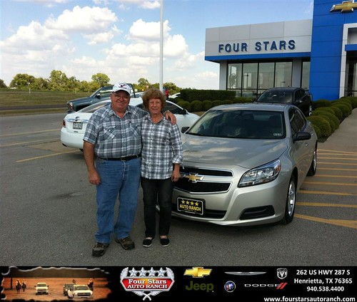 Four Stars Auto Ranch >> Thank you to Shirley Skelton on your new 2013 Chevrolet Ma… | Flickr