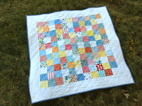 Baby Pushrock Quilt | by quirky granola girl