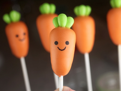 Carrot Cake Pop | by Bakerella