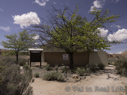 cathedral gorge campground - val in real life