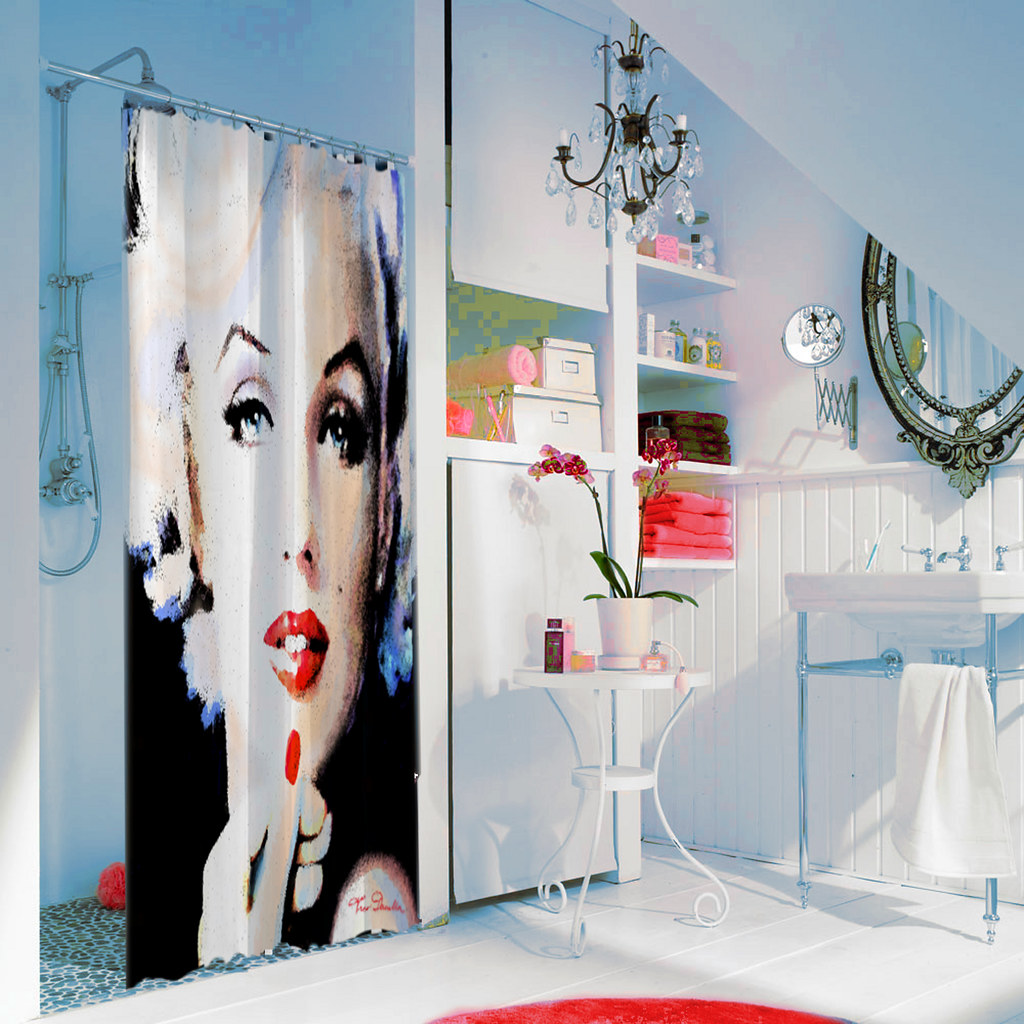 ARTbyAngieBraun Shower Curtain Marilyn 132