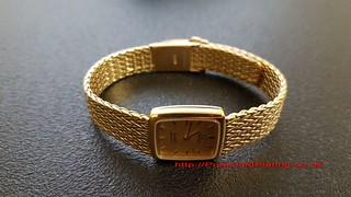 Omega Watch Gold Plated | by PureGoldPlating