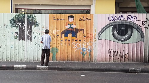 Bangkok Thailand Street Art