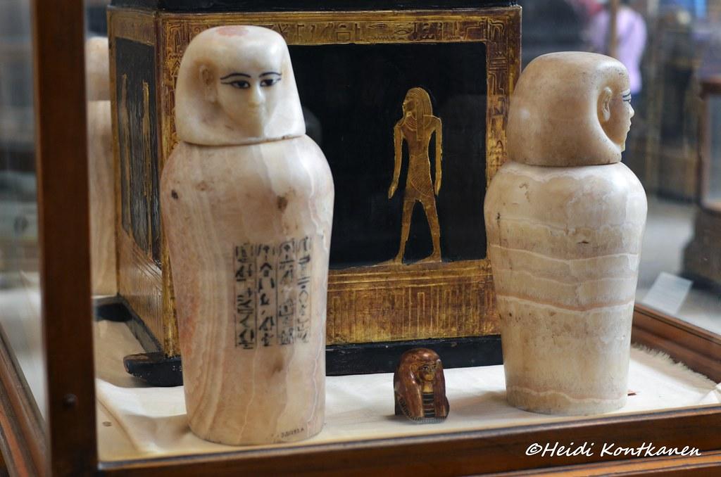 Alabaster Canopic Vase Vase Of Polished Alabaster Roughly Flickr