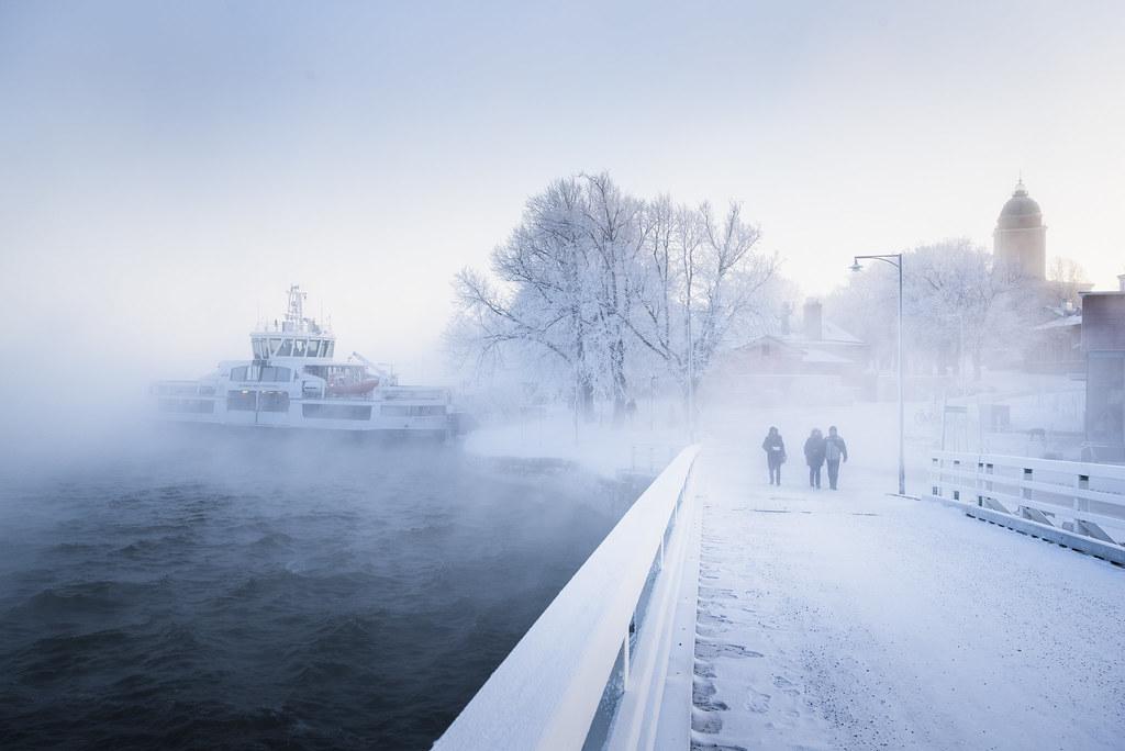 Suomelinna en invierno
