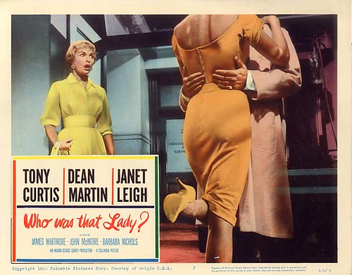 Who Was That Lady - lobbycard 1