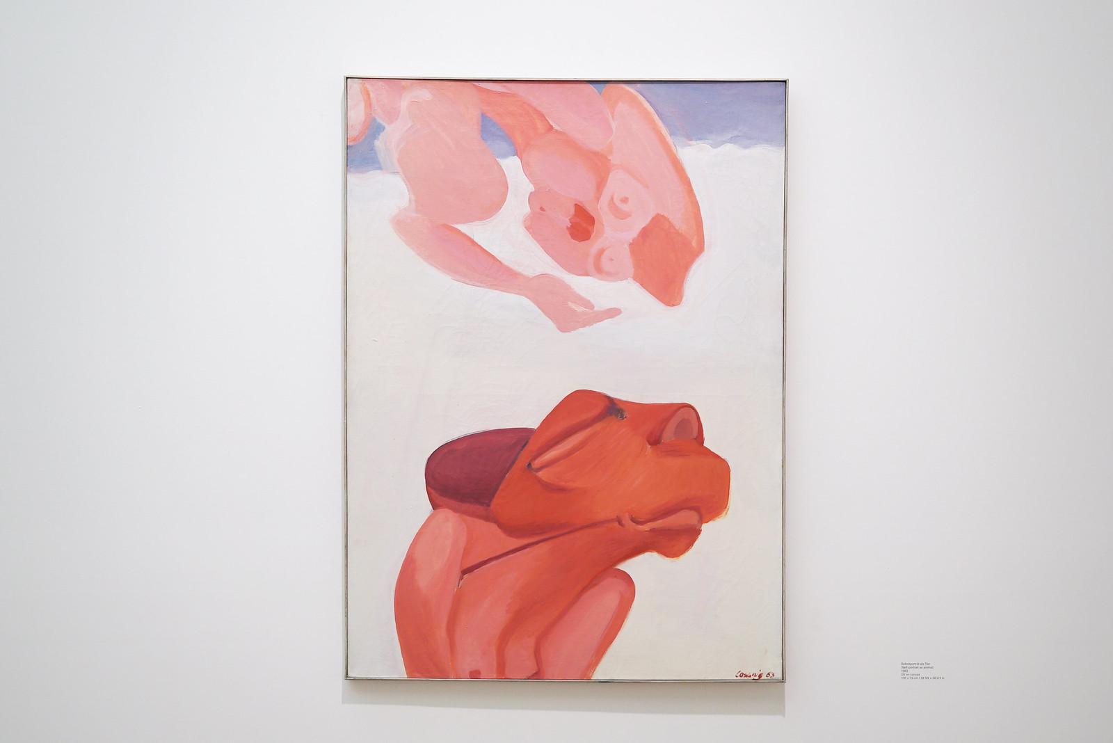 Maria Lassnig at Hauser & Wirth London