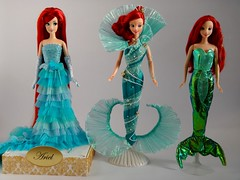 Disney Sparkle Princess Ariel Doll