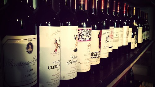 Bordeaux Wines at Fareham Wine Cellar
