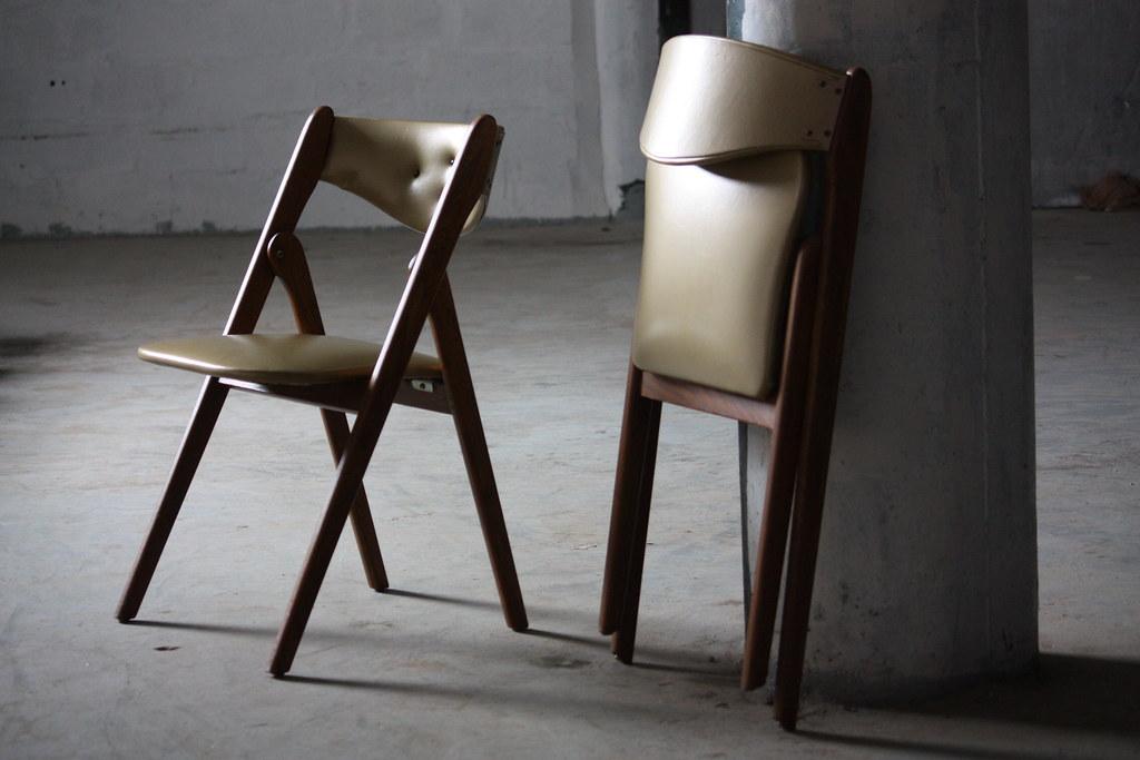 ... Practical Coronet Wonderfold Mid Century Modern Folding Chair (U.S.A.,  1950u0027s)   By Kennyk