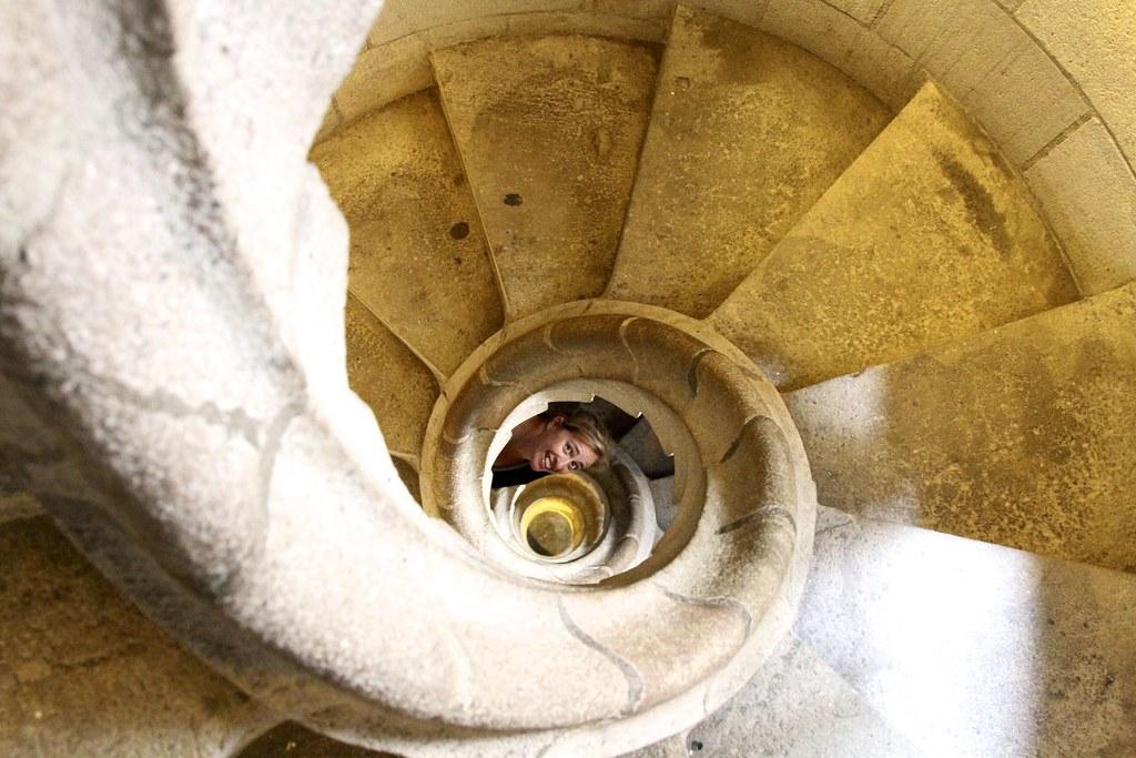 Escaleras caracol Sagrada Familia | Escaleras de caracol par… | Flickr