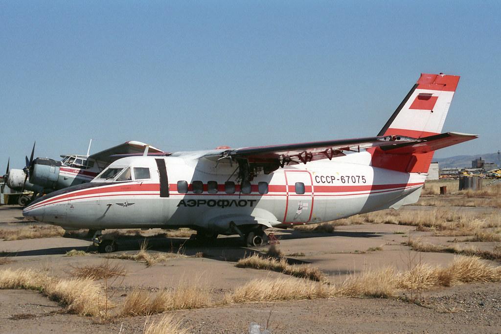 ... CCCP-67075 LET L-410UVP Aeroflot | by pslg05896