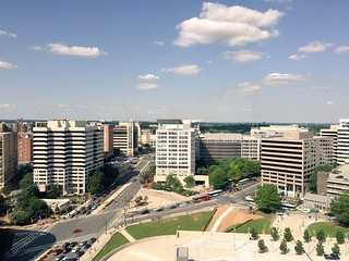 Silver Spring on a blue sky day | by Joe in DC