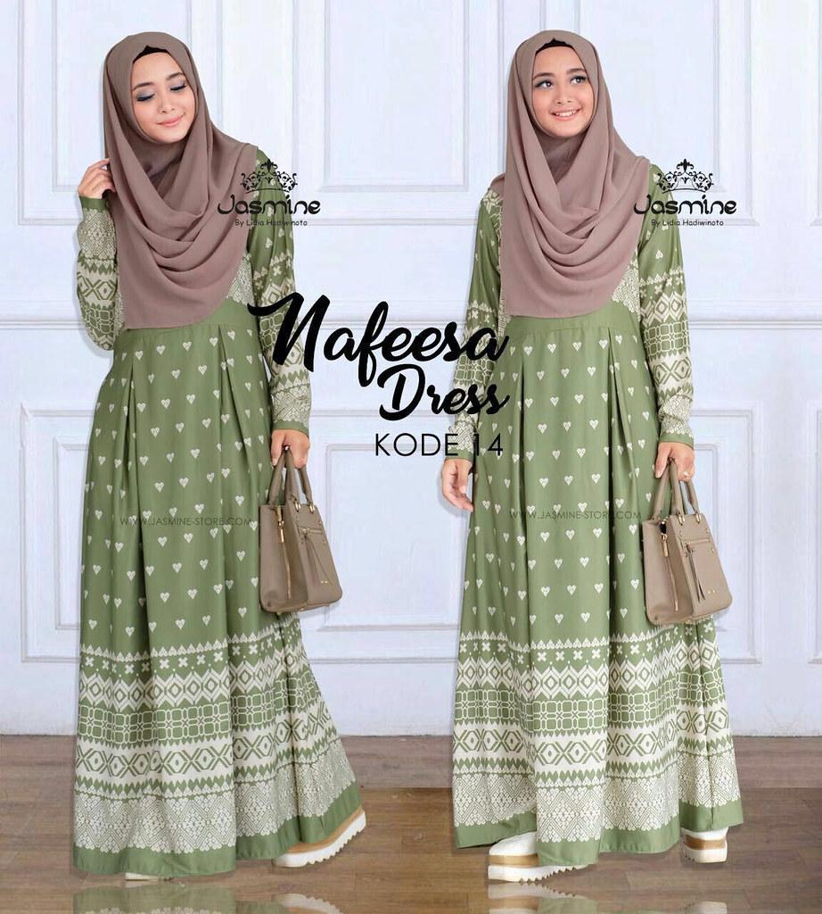 Gamis Jasmine Nafeesa Dress 14 Baju Gamis Wanita Busana Flickr